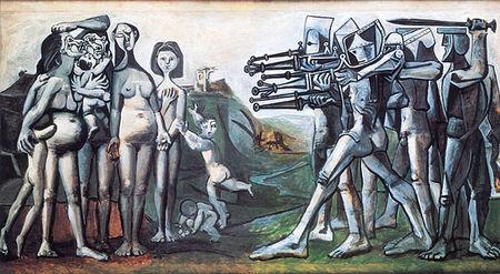 Picasso Massacre en Corée