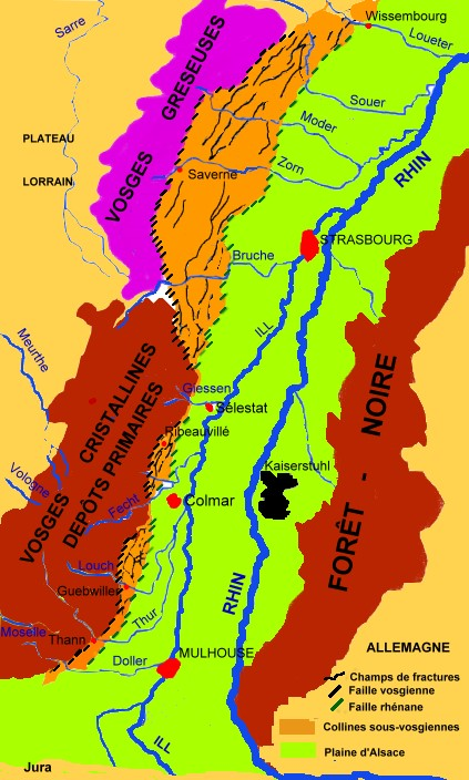 Carte geologique vosges alsace michel crivellaro