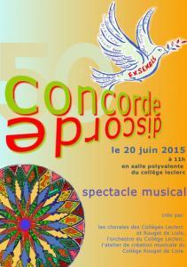 Concordia et discordia