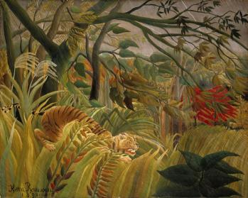 Henri rousseau le douanier surpris national gallery of art washington