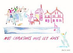Illustration nos chansons dans les rues marilou laure 600x433