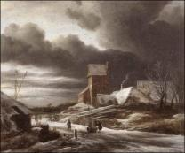 Paysagehivervanruisdael1628 1682