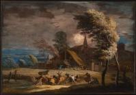 Ricci paysage dans la tempete 1