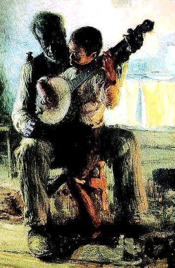 Tanner Banjo Lesson